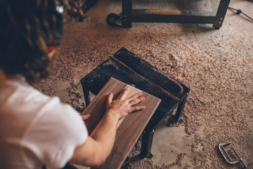 Taller propio de carpintería en Elche